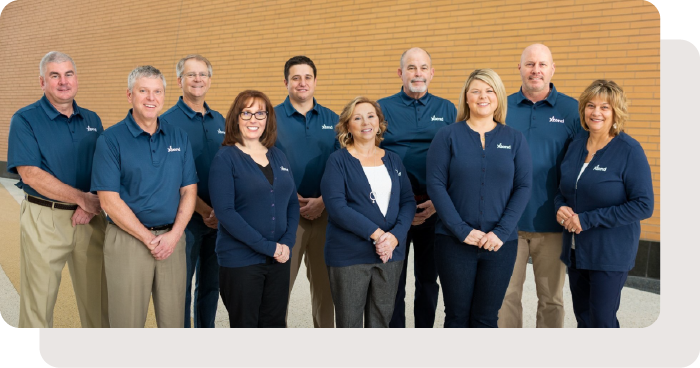 The Xtend 2020 Board Of Directors And President/CEO Liz Winninger.